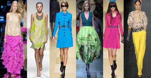 Neon dresses for summer holiday fashion